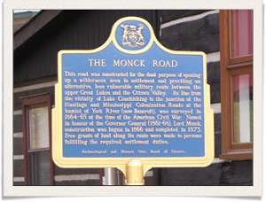 Monck Road, Bancroft Ont