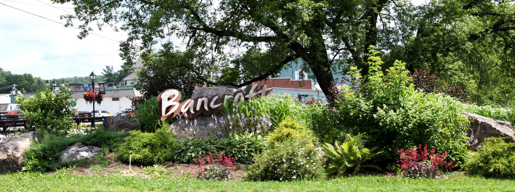 Bancroft Sign