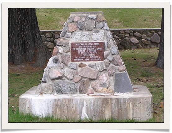 Bancroft-monument