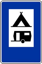 Bancroft Camping Sign